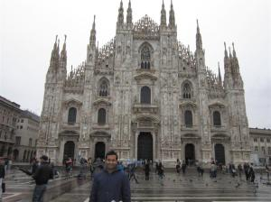 Milan Cathedral (Duomo), one of the largest in the world
