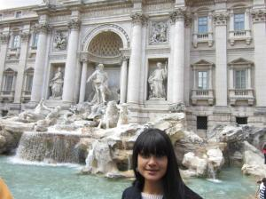 The Trevi Fountain